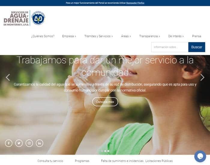 Agua y Drenaje WEB