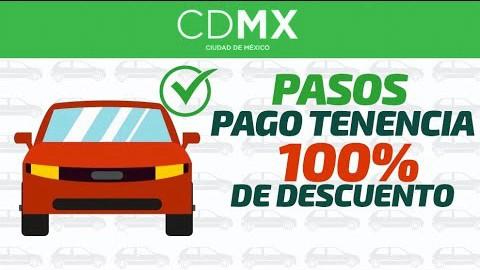 Descuento pago de tenencia CDMX