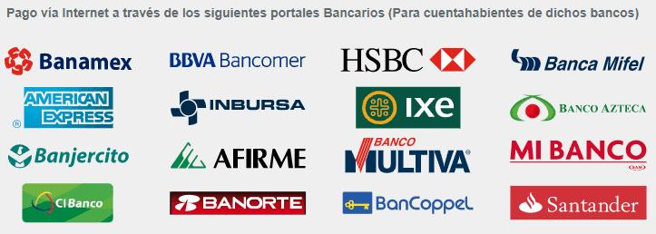 Bancos y establecimientos de pago de tenencia