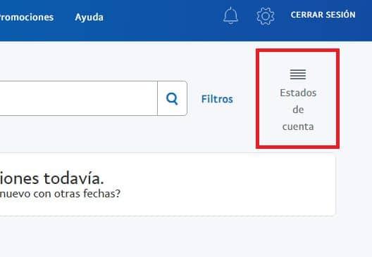 Estado de cuenta Paypal